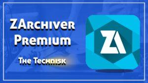 ZArchiver Mod APK Latest Version v0.9.5.9 (Premium Unlocked)
